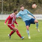 Joe Furness scored one of the Godmanchester Rovers goals. Picture: J BIGGS PHOTOGRAPHY