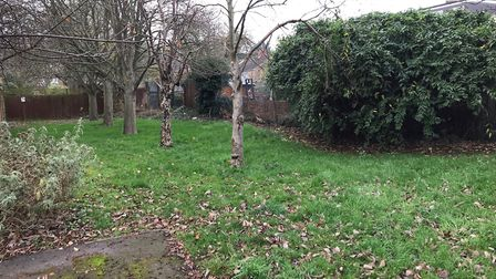 Residents surrounding this green space, on Wynches Farm Drive, are applying for it to be made an Ass