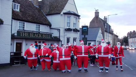 The annual Santa Chase returns to Godmanchester on December 16. Picture: CONTRIBUTED