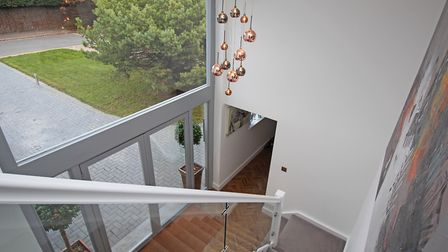 This vaulted ceiling is one of the property's stand-out features. Picture: Hunters