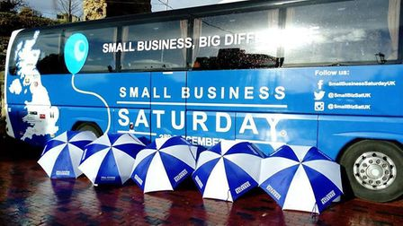 Small Business Saturday bus will be coming to St Albans this November. Picture: Provided by Small Bu