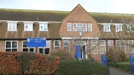 Sir John Lawes School is seeking to change its admissions policy to make Harpenden Academy a feeder