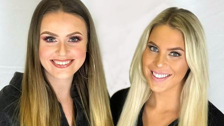 Left to right: Phoebe Shergold-Willis and Zoe Jackson. Picture: Living the Dream