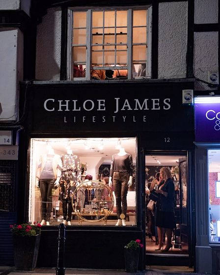 The outside of Chloe James Lifestyle. Picture: Stephanie Belton