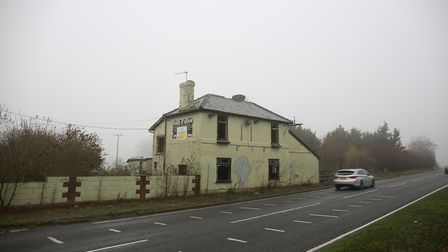 The Horse & Groom pub on the A505. Picture: DANNY LOO