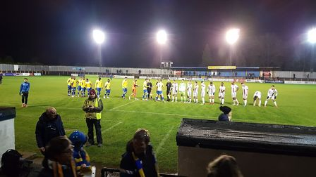 St Albans City were beaten 2-0 by Weymouth in their FA Trophy replay.