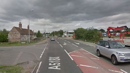 Traffic is delayed along the A5183 in Markyate. Picture: Google Street View