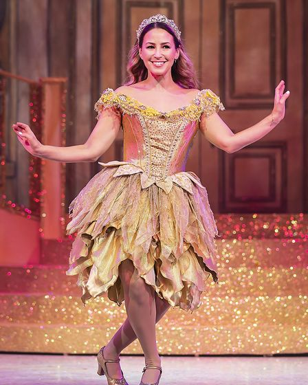 Fairy Godmother (Rachel Stevens) in pantomime Cinderella at The Alban Arena in St Albans. Picture: P