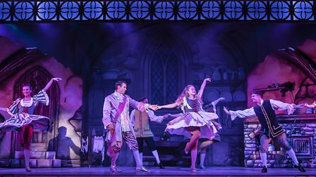 Pantomime Cinderella at The Alban Arena in St Albans. Picture: Pamela Raith Photography.