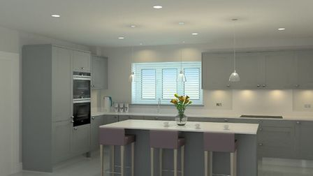 A kitchen at a similar Jarvis Homes development. Picture: Jarvis Homes