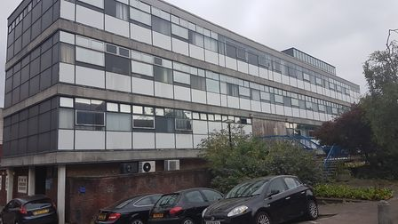 The former St Albans police station, which is due to be demolished as part of the Civic Centre Oppor