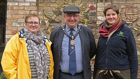 The launch of the Time Vine at the Norris Museum in St Ives. Picture: ARCHANT