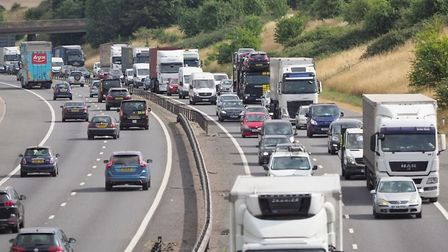 The collision took place on the M11 [stock image]. Picture: CELIA BARTLETT PHOTOGRAPHY