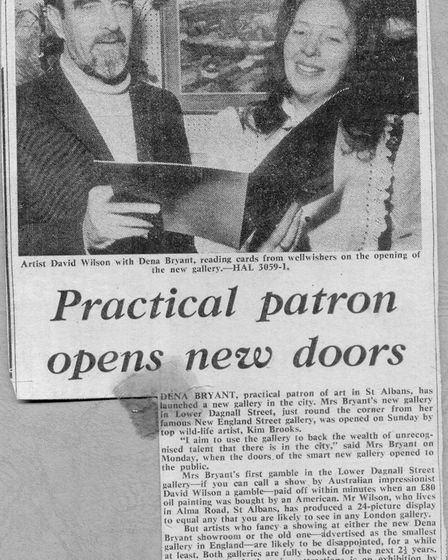 Herts Ad article featuring Dena Bryant-Duncan. Picture: Mark Bryant