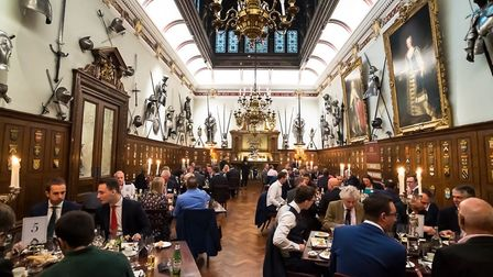 The event took place at Armourers'' Hall in the City of London. Picture: Putterills