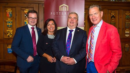 Left to right: Putterills Land director Kane Lennon, New Homes sales director Kay Sheppard, managing