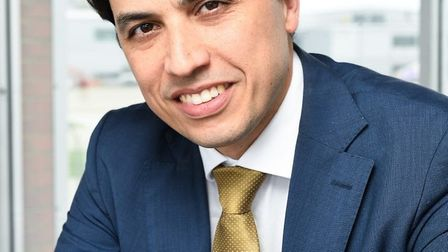 The CEO of London Luton Airport Alberto Martin. Picture: London Luton Airport.