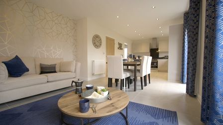 Inside the show home at the Kingsbury Gardens development. Picture: Charles Church
