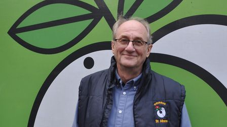 Tony Ferrier, the retiring CEO of Emmaus St Albans. Picture: Emmaus