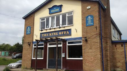 King Offa pub, which closed in 2015.