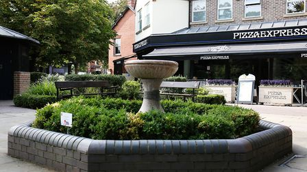 The town is home to a mix of independent and chain restaurants, including Pizza Express. Picture: DA