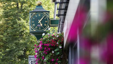 Harpenden's leafy town centre is an attractive place to spend time. Picture: DANNY LOO