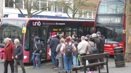 Representatives from Uno and Arriva will attend a meeting where the public can ask questions about t