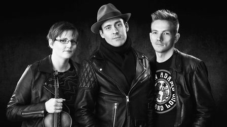 Led by singer-songwriter Greg McDonald, Glymjack will be playing with fiddle virtuoso Gemma Gayner a