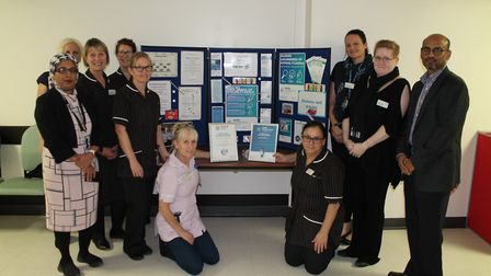 Staff members at the trust