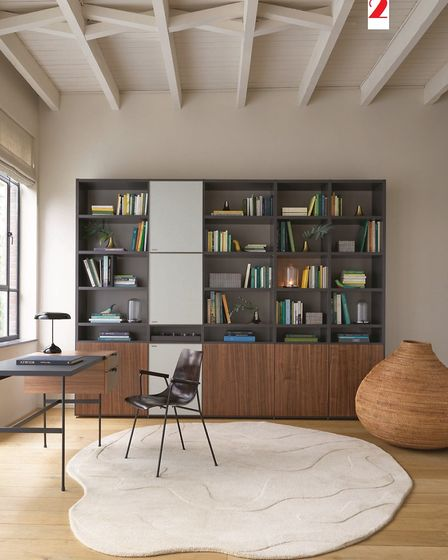 2, A home office, as styled here by Ligne Roset