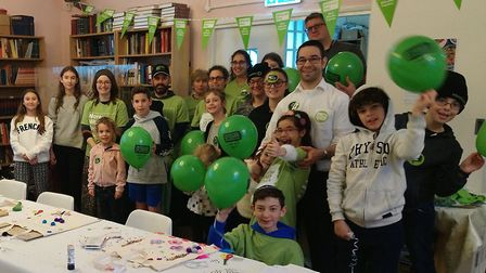 St Albans United Synagogue members observing Mitzvah Day. Picture: St Albans United Synagogue