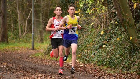 St Albans Striders' Will Bowran at the Hatfield 5. Picture: Richard Underwood