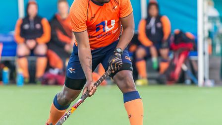 St Albans Hockey Club's Dillet Gilkes. Picture: CHRIS HOBSON PHOTOGRAPHY
