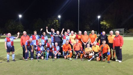 St Albans Hockey Club and Dutch side Forcial were still in good spirits after their game.