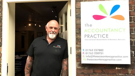 John Froggett is celebrating 20 years of his business, The Accountancy Practice, in Royston. Picture