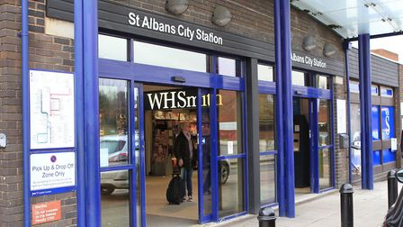 St Albans City Station. Photo: DANNY LOO.