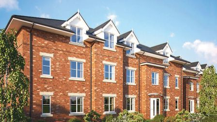 CGI of how the apartments at Waverley Green, St Albans, will look. Picture: Matthew Homes