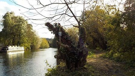 The de-cluttered riverside area in St Neots. Picture: CONTRIBUTED
