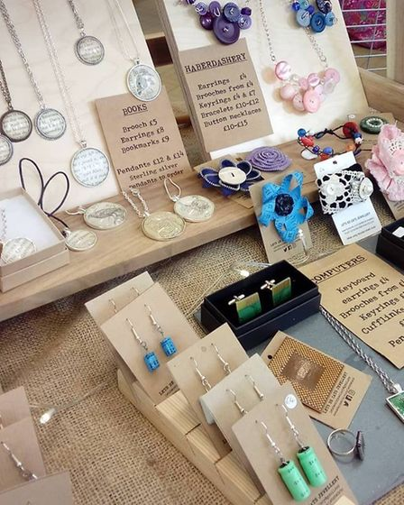 Jewellery of the like which will be on sale at the Christmas market at Aubrey Park Hotel. Picture: L