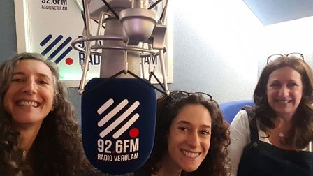 Speakers from the St Albans Mental Health Conference appeared on Radio Verulam. Picture: The OLLIE F