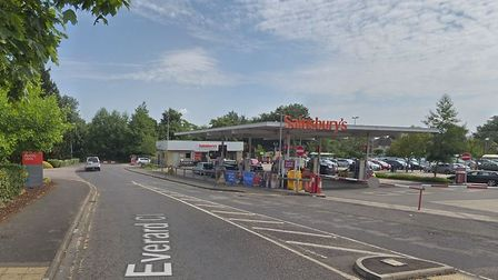 Everard Close, where one of the incidents took place. Picture: Google.