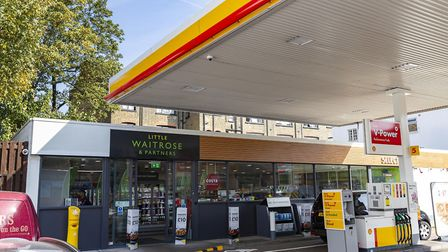 The new Shell Chiswell with Little Waitrose and Partners. Picture: Roger Harris