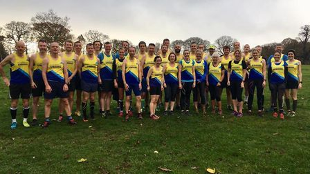 St Albans Striders were out in force at Trent Park for the third round of the Chiltern League.