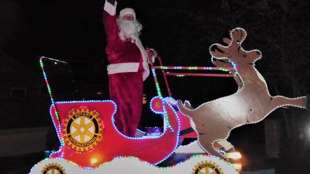 Santa sleigh will do the rounds in St Ives