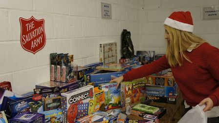 The Salvation Army is hoping to spread a little Christmas cheer in Huntingdonshire