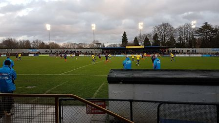 St Albans City took on Wealdstone at Clarence Park in the Vanarama National League South.