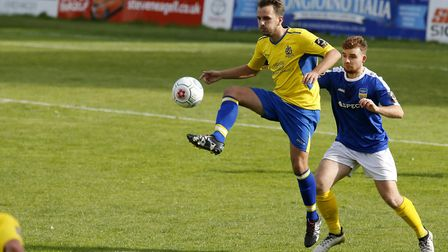 Sam Merson ran himself into the ground on an impressive return to the starting line-up for St Albans