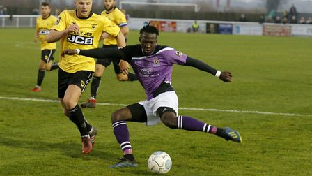 David Moyo will continue to spearhead the St Albans City attack along with Sam Merson for the time b