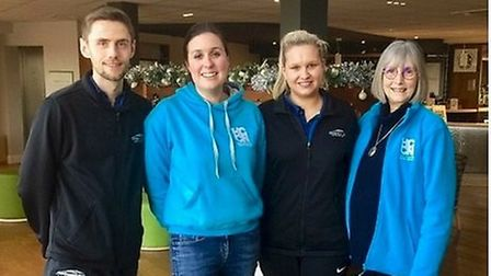 HCCN and the Lifestyle team from One Leisure