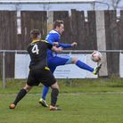 Buster Harradine hit a classy goal in Godmanchester Rovers' victory at Walsham-le-Willows. Picture: